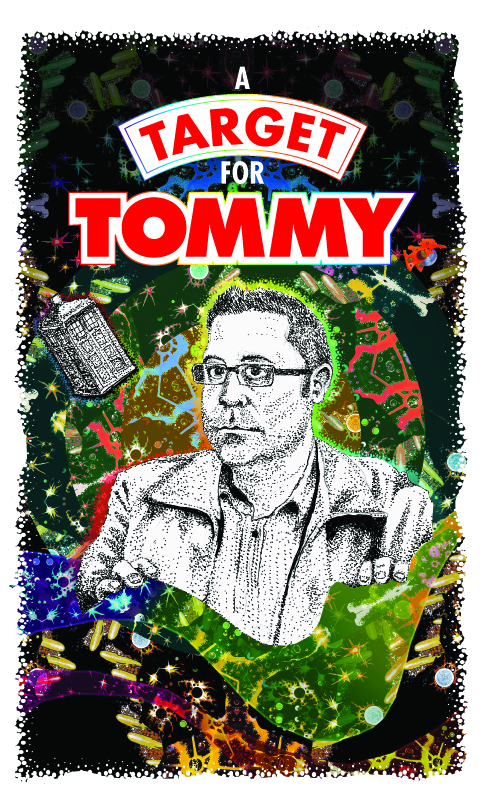 Charity short story anthology 'A Target For Tommy'.